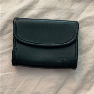 Vintage Coach Black Leather Wallet